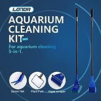 Aquarium Reinigungsset Aquarium Reinigungswerkzeuge Reinigungsset Sauberer Schwamm für mittelfarbigen Tank