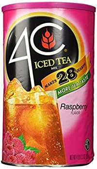 4C Instant Iced Tea Mix, Raspberry 74.2oz