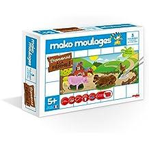 Dujardin - 39002 - Kit De Loisirs Créatifs - Mako Moulages Ferme - 3 Moules
