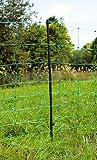 grüner mobiler Elektrozaun Weidezaun 108cm hoch bis 50m lang Zaun-Netz
