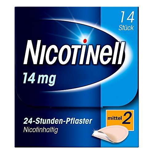 Nicotinell 14 mg/24-Stunden-Pflaster (bisher 35 mg) Stärke 2 (mittel), 14 St. Pflaster