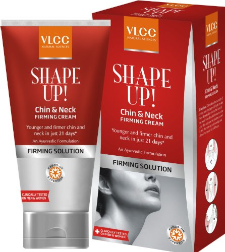 Vlcc Shape Up Chin Neck Firming Cream, 100ml  available at amazon for Rs.495
