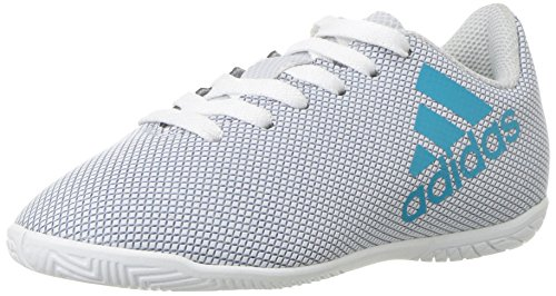 adidasS82409 - X 44,20 cm (17,4 Zoll) in J Unisex-Kinder, Weiá (White/Energy Blue/Clear Grey), 22 EU Medium Kleines Art