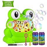 HENZIN Bubble Machine, Automatic Frog Bubble Blower Portable Bubble maker Over 500 Bubbles