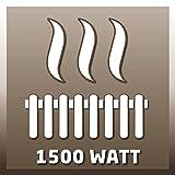 Einhell Stehtisch mit integrierter Elektro Heizung BTH 1500 (1500 Watt, 110 cm Höhe,˜ 60 cm Tischplatte, geräuschlos, für Bistro, Garten und Party) - 5