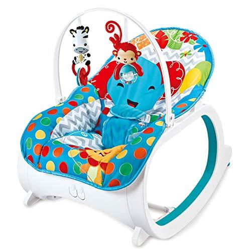 Silla Mecedora Para Bebé Música Cuna Para Bebé Sillón Reclinable Eléctrico Vibración Relajante...