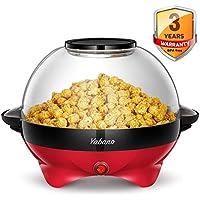 Yabano Popcorn Maker, 5L Electric Popcorn Machine for Healthy Less Fat Popcorn,800W