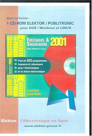 Freeware & Shareware 2001. CD ROM par Collectif