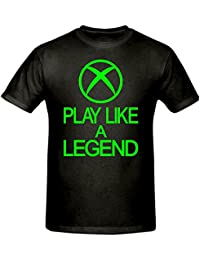 Bamboozled Accessories Play Like A Legend Xbox T Shirt,Children's T Shirt, Sizes 5-15 Years