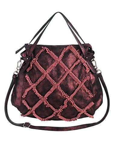 SURI FREY Tasche mit modischen Fransen -