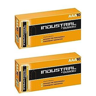 Duracell 20 X AAA Industrial Alkaline Battery - Orange