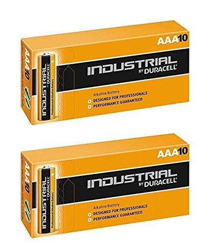 Duracell 20 x AAA Pile alcaline industrielle – Orange