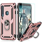 LeYi Galaxy A9 2018 Case with Ring Holder, Full Body