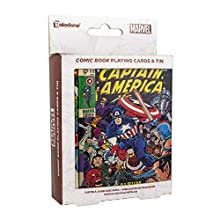 Marvel Comics Playing Cards | Includes Collectors Embossed Storage Tin | Ideal for Games, Poker & Blackjack