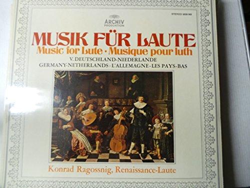 Musik fur Laute (Adriaensen, Sweelinck, van den Howe, Vallet, Howet, Newsidler, Waissel,von Hessen) -- Archiv () Printed in Germany-Ragossnig K. (lute)-ARCHIV - Germania-ARV 2533302-AAVV-RAGOSSNIG Konrad (liuto - chitarra)