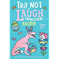 Try Not to Laugh Challenge Easter Joke Book for Kids 3-6 Years Old, Each Joke Illustrated: My First Kids