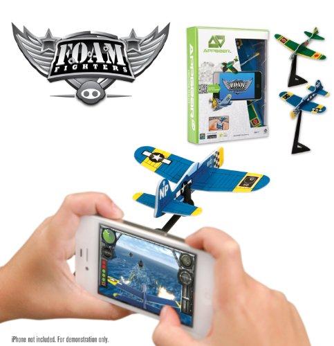 WowWee 0110 - App Gear Foam Fighters, Schaumstoffflugzeuge für die Spiele-App