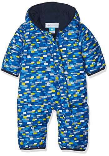 Columbia Snuggly Bunny Bunting Kinder Schneeanzug, Super Blue Blocks, 3/6 Monate, SN0219