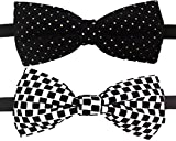 #7: GlobalRang Men's Bow Tie (Pack Of 2)