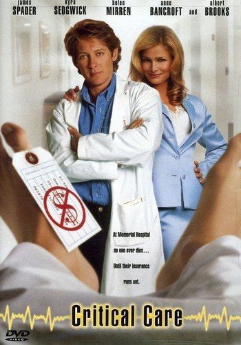Preisvergleich Produktbild Critical Care [DVD] [Region 1] [NTSC] [US Import]