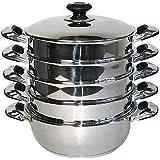 Mantowarka - Juego de cacerolas para cocinas al vapor (inducción, ...