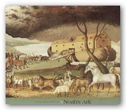 Noah's Ark by Edward Hicks Art Print Poster