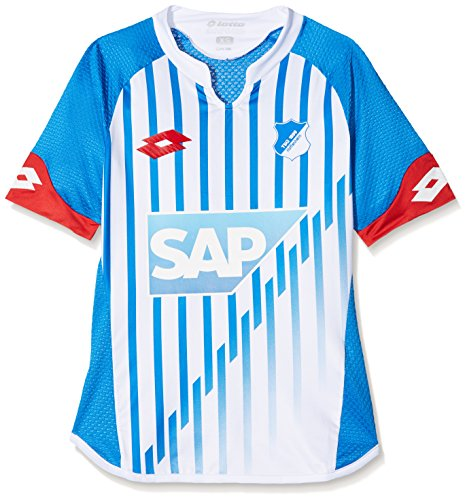 Lotto Kinder HOF15 Home Jrs JR Jersey Short Sleeve, Blue, L (Lotto Shirt Home)