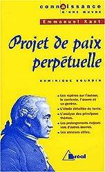 Projet de paix perpétuelle d'Emmanuel Kant