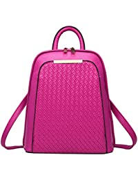 b9ca05aab6 Meaeo Tide Female Backpacks Sac À Dos en Cuir De Haute Qualité Femmes  Vintage School Sac