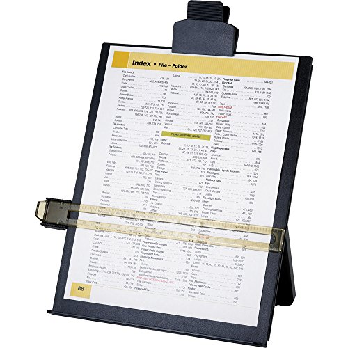 Sparco Easel Document Holders, Adjustable, 10-3/8 x 2-1/4 x 12-1/2 Inches, Black (SPR38952) by Sparco