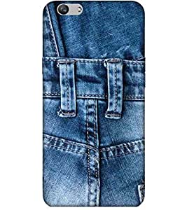 For Vivo V5 Plus belt Printed Cell Phone Cases, denims Mobile Phone Cases ( Cell Phone Accessories ), jeans Designer Art Pouch Pouches Covers, boys Customized Cases & Covers, girly Smart Phone Covers , Phone Back Case Covers By Cover Dunia