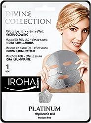 Iroha Hydra Glowing Foil Sheet Mask - Platinum