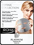 Iroha Divine Collection maschera Hydra Glowing con Platinum & Acido Ialuronico