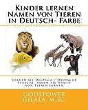 Kinder lernen Namen von Tieren in Deutsch- Farbe: Lernen Sie Deutsch/Deutsche Sprache, indem Sie Namen von Tieren lernen