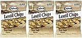 (3 PACK) - Cofresh - Eat Real Lentil Chips Sea Salt | 113g | 3 PACK BUNDLE