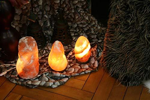 Stein Lampe Salzlampe Leuchte ca. 7-9 kg in 1A Qualität ()