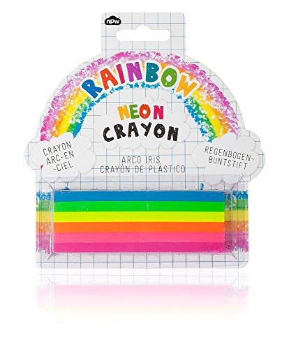 NPW NP21691 Extra GroßeFarbton Buntstift - 6 in 1 Neon Regenbogen Sketch und Colour