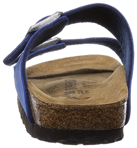 Birkenstock pantoufle ''Arizona'' de Mikrofaser en Taupe Bleu