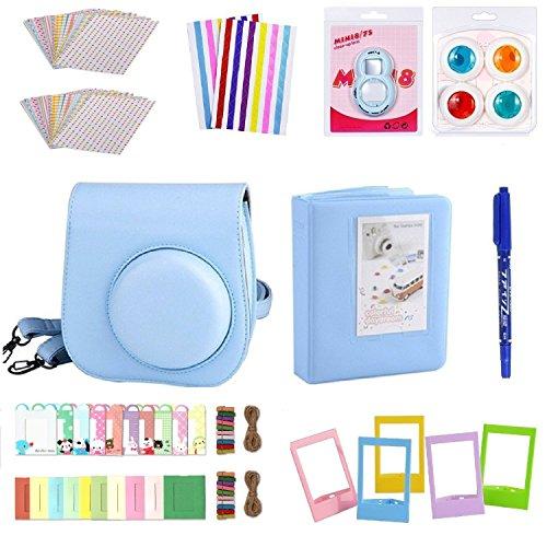 followsun-10-in-1-fujifilm-instax-mini-8-camera-accessori-set-inclusi-blu-caso-album-64-tasche-selfi