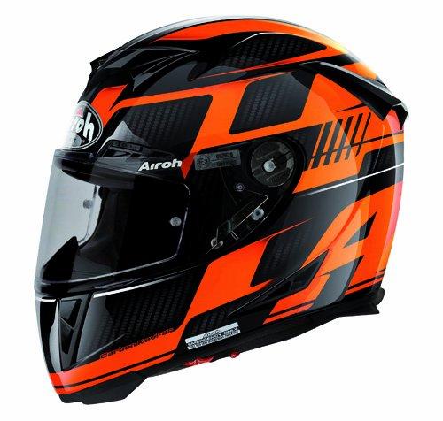 Airoh Motorrad Helm GP-500, First Orange, 58 cm Helm Motorrad Gp