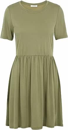 Pieces Women's Pckamala Ss Dress Noos Bc Casual