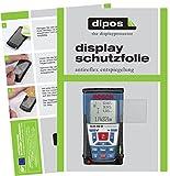 dipos I 3X Schutzfolie matt passend für Bosch Professional GLM 250 VF Folie Displayschutzfolie