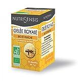 Nutrisensis - Gelée royale bio - 25 dosettes 1 g - Période d'activité intense, changement de sason