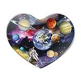 Kühlschrankmagnet mit Solarsystem Planeten Space Earth Saturn Jupiter Mars Herz Acryl Kühlschrank Magnet