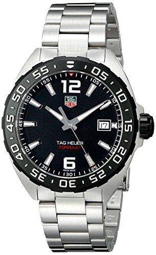 Tag Heuer waz1110.ba0875 - Reloj de pulsera, correa de acero inoxidable, color plateado
