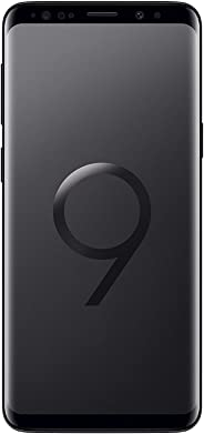 Samsung Galaxy S9 Plus 128GB 6.2in 12MP SIM-Free Smartphone in Midnight Black (Renewed)