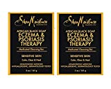 SheaMoisture Eczema & Psoriasis Therapy African Black Soap, 5 oz - 2pc by Shea Moisture