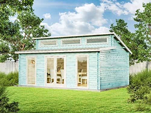 CARLSSON Alpholz Gartenhaus Narvig-70 C, 70 mm Wandstärke (598 x 420 cm)