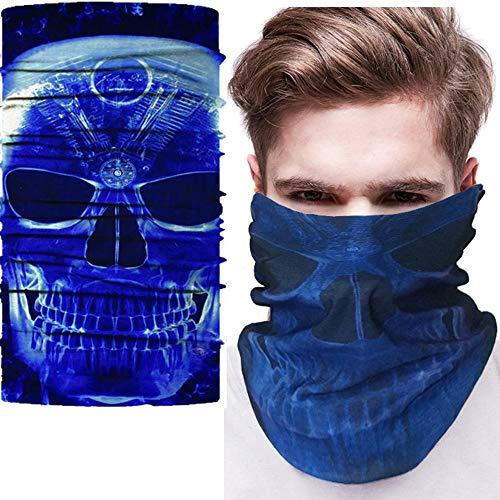 NAN® Multifunktionstuch Taro-Maske Multifunktionales Nahtloses Kopftuch Magischer Hut Der Vielzahl Halloween Festival Kopfbedeckung Maske - [10 Beutel],11 (Maske Halloween 11)