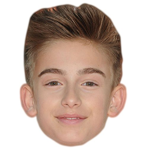 Celebrity Cutouts Johnny Orlando Maske aus Karton